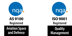 AS 9100 and ISO 9001 accreditations