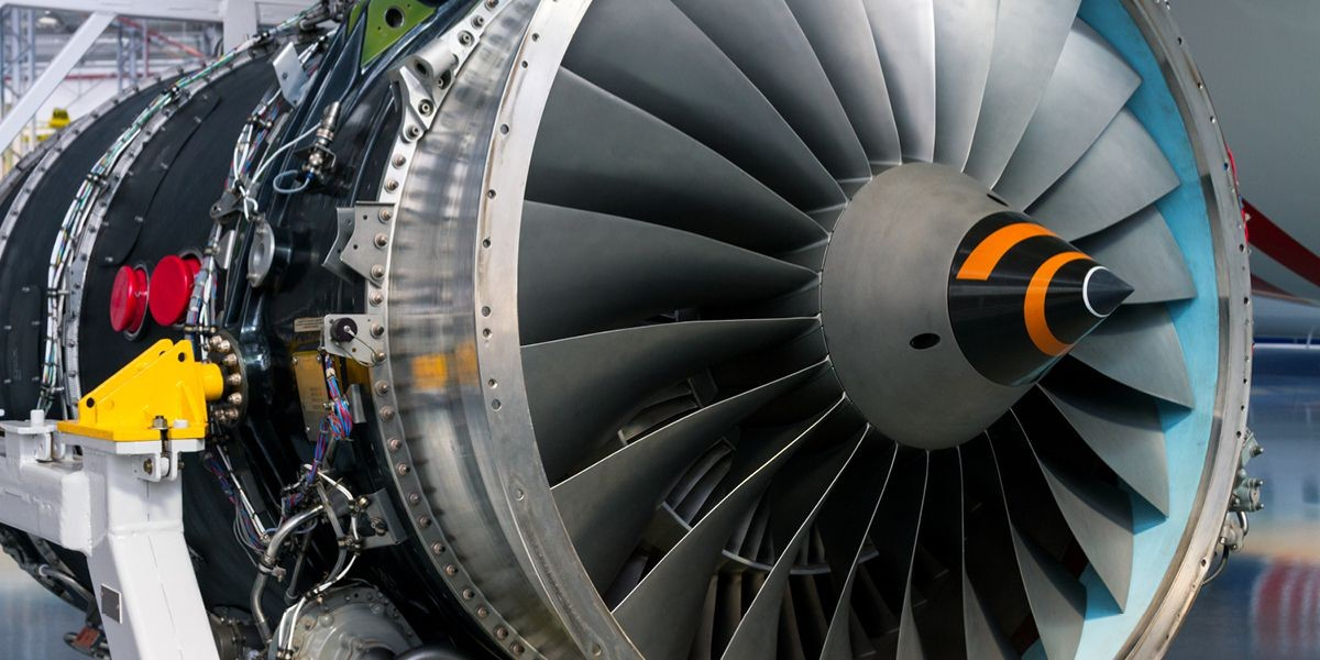Aerospace industry aircraft turbine