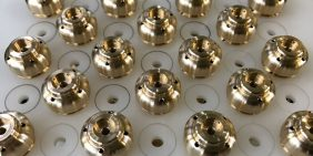 Aerospace brass valve body for export