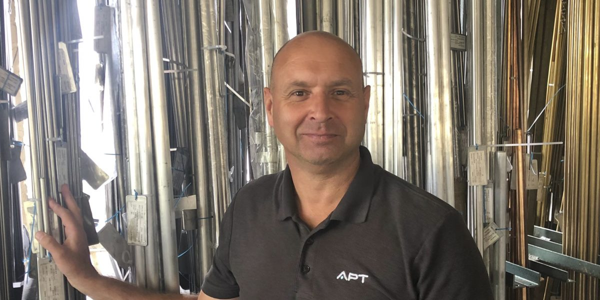 Andy Stone - Production Manager | APT Leicester