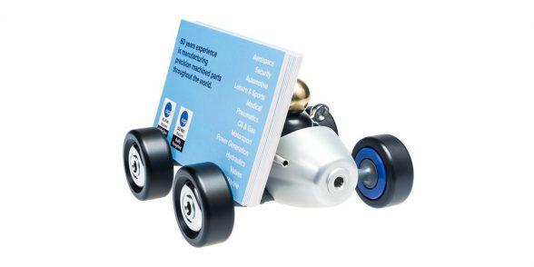 APT model racing car business cards holder