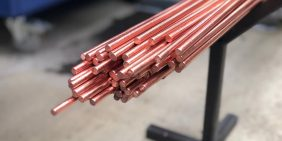 APT Leicester copper bar for turned parts