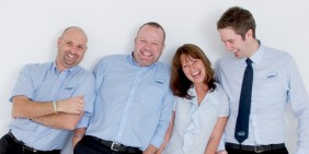 APT management team photo close-up