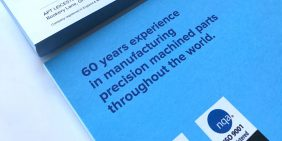 APT compliment slips design supporting 60 years experience in manufacturing precision machined parts