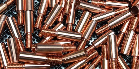 BH Tungsten Grinders weld brush copper ferrule