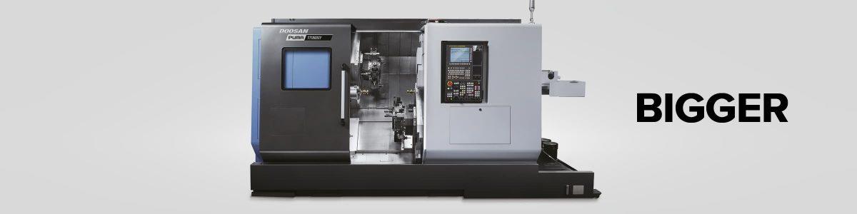 Big precision turned parts 300mm billet work