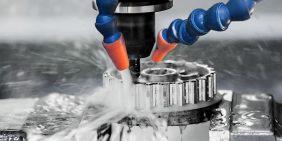 Aluminium part CNC machining
