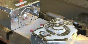 Aluminium parts CNC milling