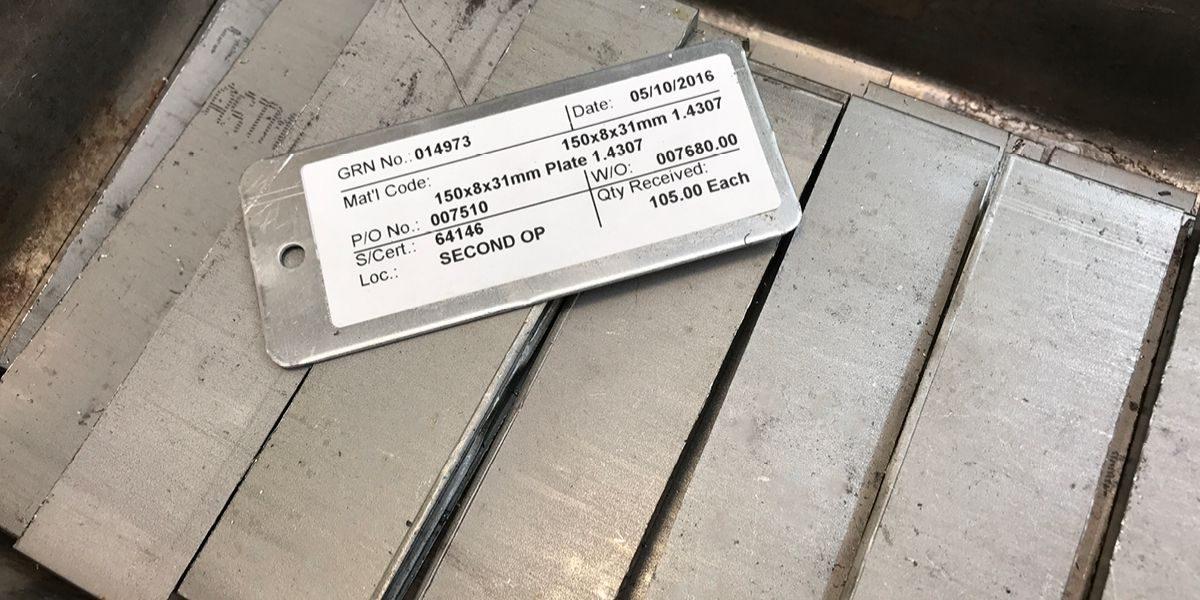 Stainless steel bars in 1.4307 grade
