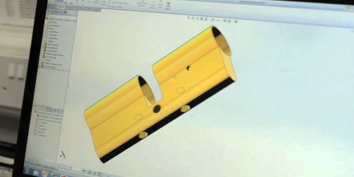 SolidWorks CAD software help us make recommendations and fine tune the design and manufacture of components