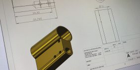 Euro lock CAD design and engineering service
