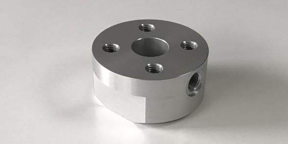 Piston End Support - Aluminium | Pneumatics