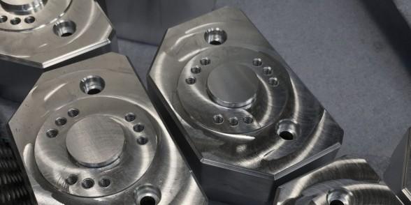 Support Block - Aluminium | Pneumatics