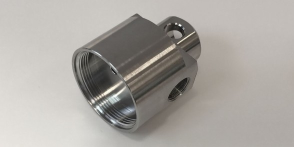 End Cap - Stainless Steel | Valves