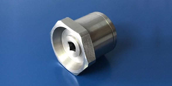 Shaft Cap - Stainless Steel | Hydraulics
