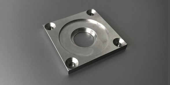 Mount Plate - Mild Steel | Aerospace