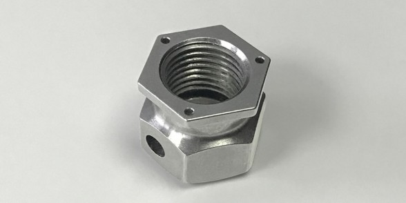 Fuel Nut - Stainless Steel | Oil & Gas