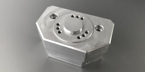 End Block - Aluminium | Mechanical Engineering