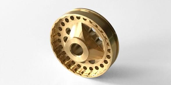 Flow Coupler - Brass | Motorsport