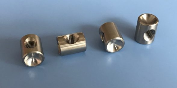 Cross Dowel Barrel Nuts - Stainless Steel | Furniture