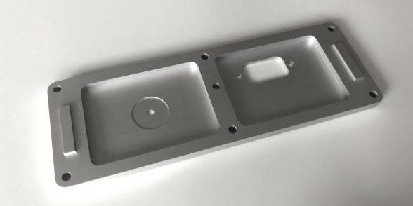 Cover Plate – Aluminium | Medical