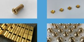 Brass turned parts samples
