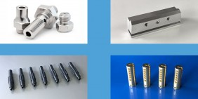 Turned parts and CNC components samples