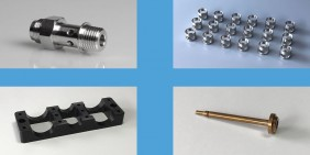 Turned parts and CNC components samples 3