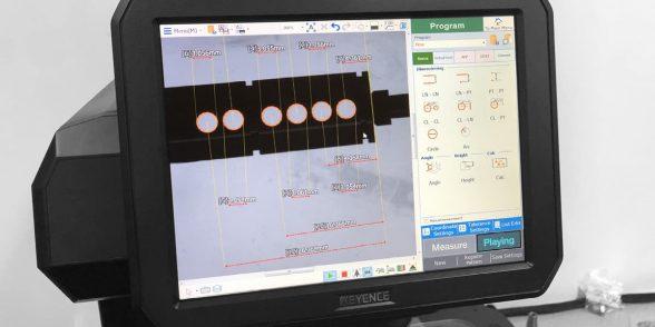Keyence IM-7000 Series measurement system training