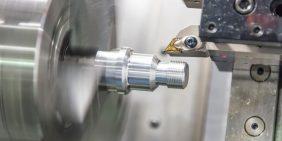 Aluminium precision turned parts
