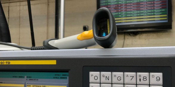 Barcode scanner for real time live monitoring system that offers complete transparency and traceability