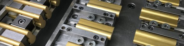 Security CNC machined components