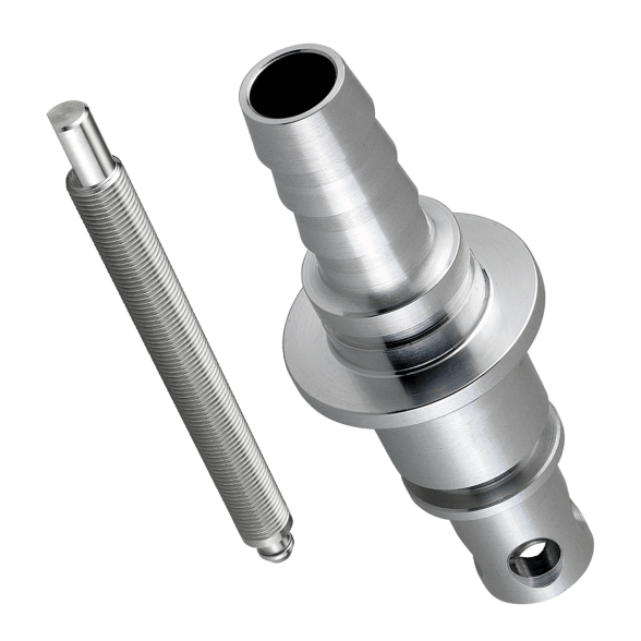 Stainless steel turned parts with oiling finish