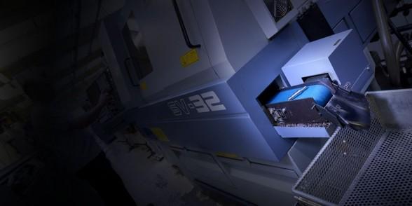 Star SV-32 sliding head CNC lathe