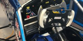 Team Derby motorsport car steering wheel