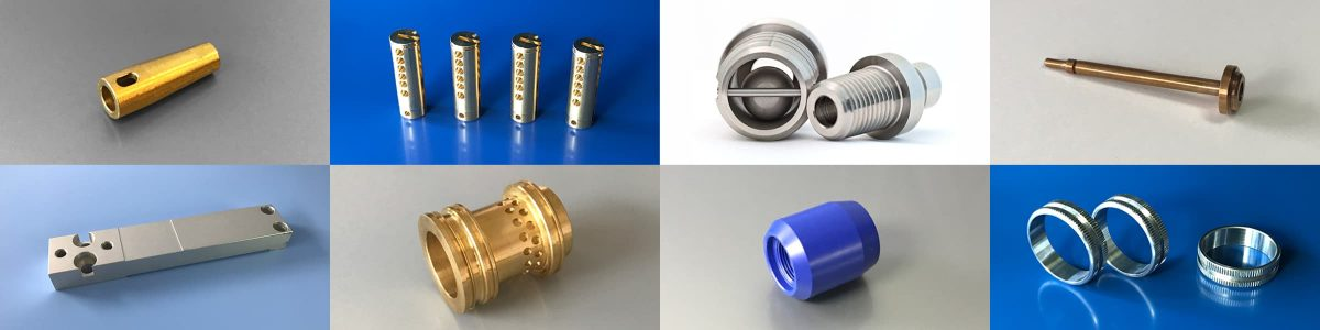 Turned parts and cnc components gallery