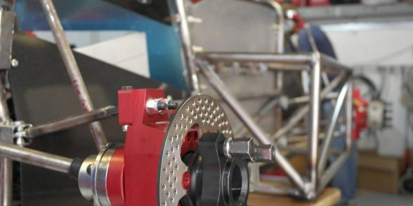 Single seat electric racing car suspension for IMechE Formula race